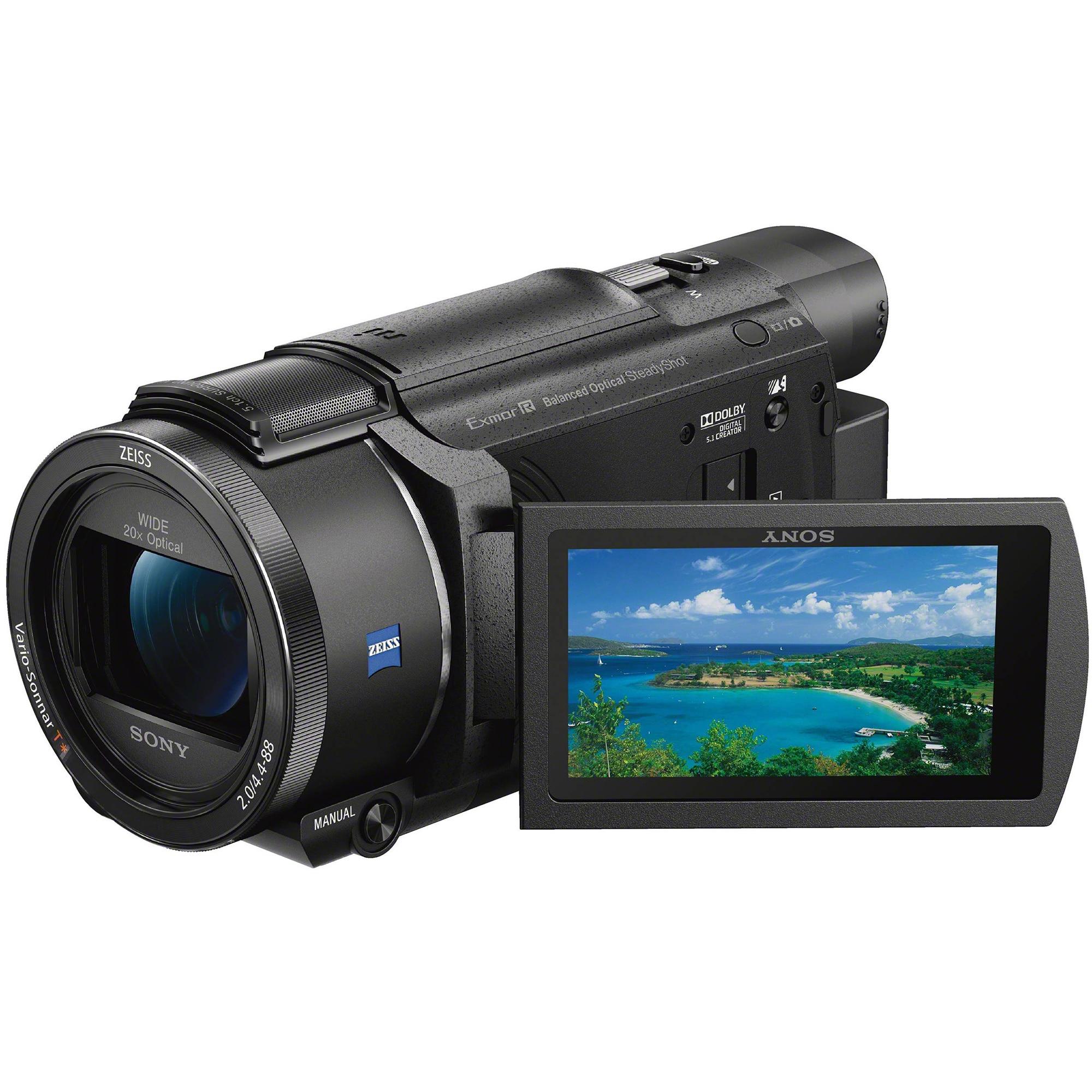 Fotografie Camera video Sony Handycam® FDR-AX53, 4K, B.O.SS, Negru