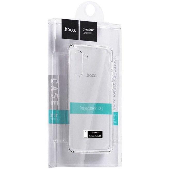 Fotografie Husa de protectie Hoco Light TPU pentru Samsung Galaxy Note 10, Transparent
