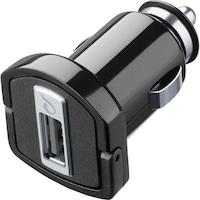 Cellularline MICROCBRUSB Autós töltő, 5W, 1 x USB, Fekete