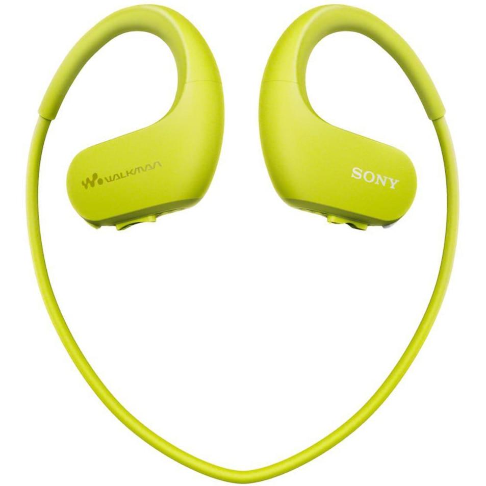 Fotografie Mp3 Player Sport Sony Walkman NWWS413G, 4GB, rezistent la apa, Verde