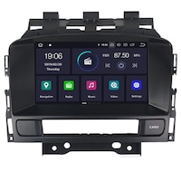 Мултимедия Hesperus за Astra J (2010-2015), Двоен дин с GPS, DVD, Android 10, black