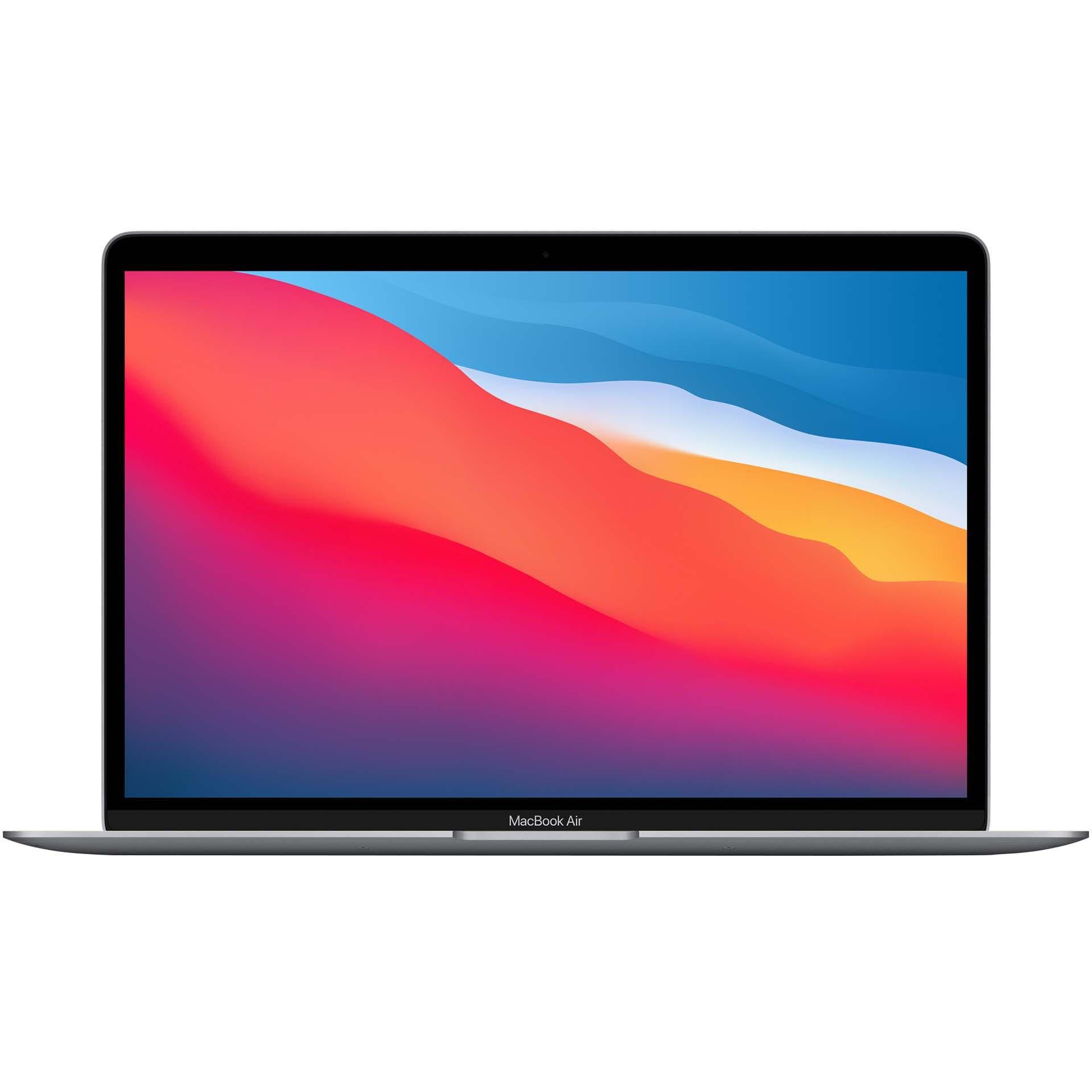 Fotografie Laptop Apple MacBook Air 13-inch, True Tone, procesor Apple M1 , 8 nuclee CPU si 7 nuclee GPU, 8GB, 256GB, Space Grey, INT KB