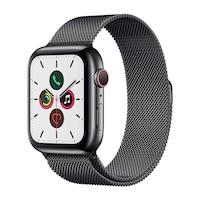 Apple Watch Milánói Szíj Fekete 42/44 mm