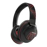 PowerLocus MoonFLY Bluetooth fejhallgató,70 óralejátszási idő, ,vezeték nélküli fül köré illeszkedő összehajtható (Piros)