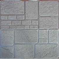 3D öntapadó tapéta, modern kivitel, vízálló, könnyen tisztítható, méretei 70x70cm, dombornyomott kő minta, szürke Selling Depot ®