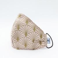 3 rétegű mosható textil karácsonyi maszk G3 szűrővel - Gloria Rose - M (női) méret