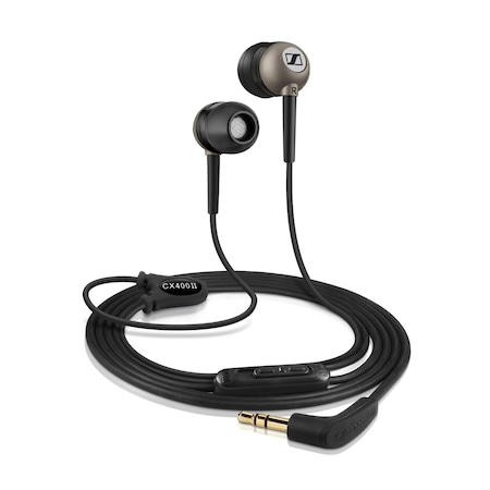 Слушалки In-ear Sennheiser CX 400-II, Черни