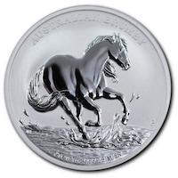 Сребърна монета The Perth Mint Brumby