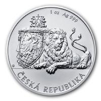 Сребърна монета Gold Center Лъв, 1 Oz