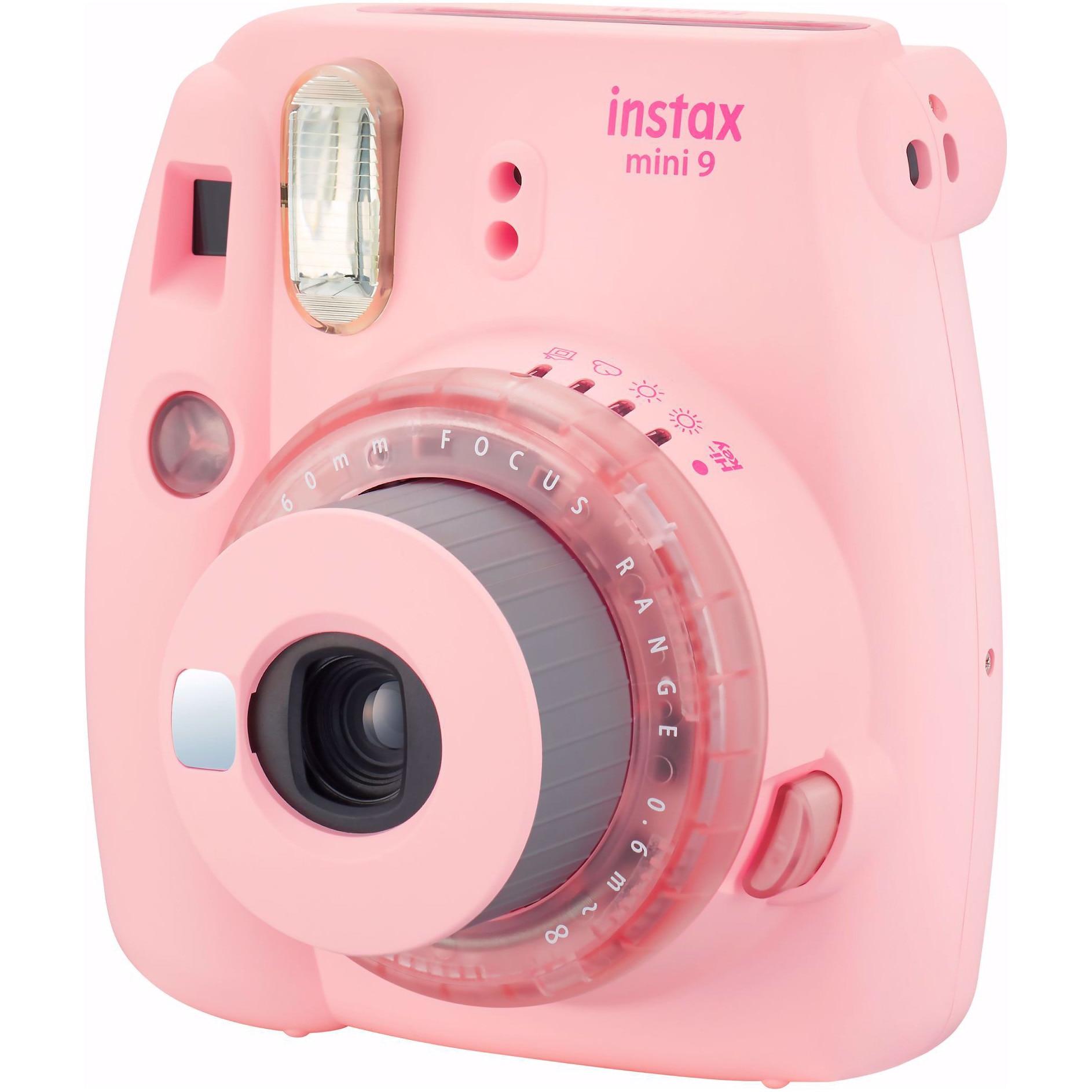 Fotografie Camera foto instant Fujifilm Instax mini 9, Clear Pink