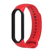 """Xiaomi Mi Smart Band 5 okoskarkötő """"authentic"""" pótszíj - Piros"""