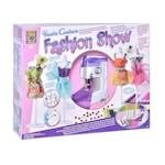Детска шевна машина, С 4 кукли, Аксесоари за шиене, Скици и рисунки, 3+ години, 28 см, Многоцветен