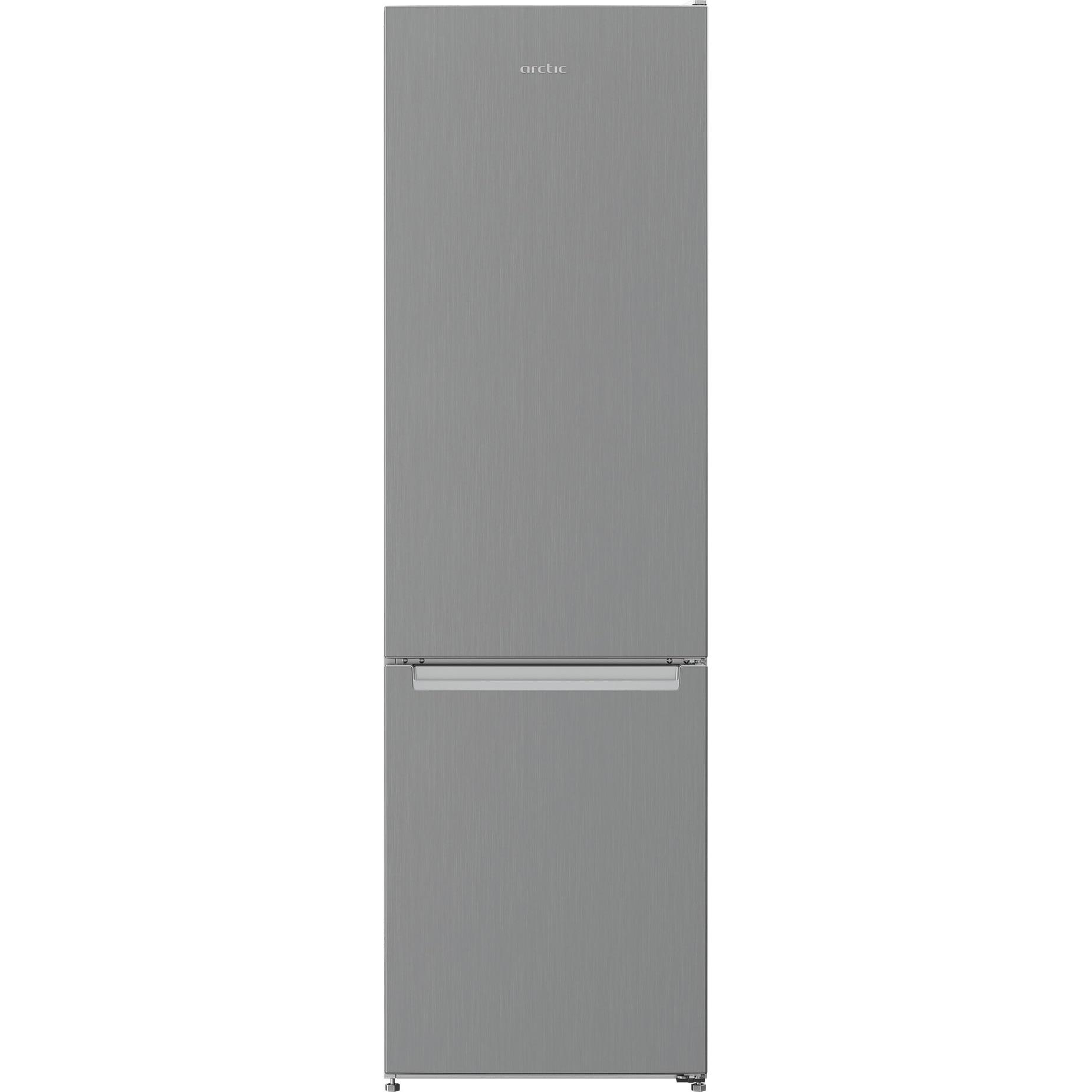 Fotografie Combina frigorifica Arctic AK54305M30MT, 291 l, Clasa F, Garden Fresh, H 181.3 cm, Argintiu