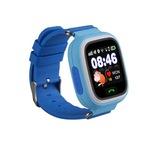 Ceas smartwatch copii SMARTECH localizare, functie telefon, buton SOS si monitorizare spion, Bleu
