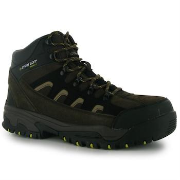 Мъжки боти Dunlop Safety Hike, 41.5, Черен/Сив