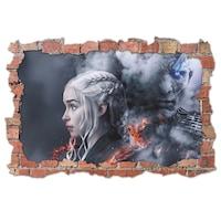3D Dekorációs falmatrica, Game of Thrones, 60x90cm