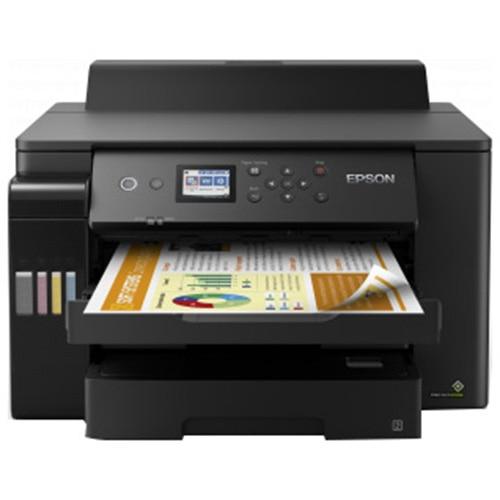 Fotografie Imprimanta inkjet color Epson L11160 CISS, Retea, Wireless, A3+