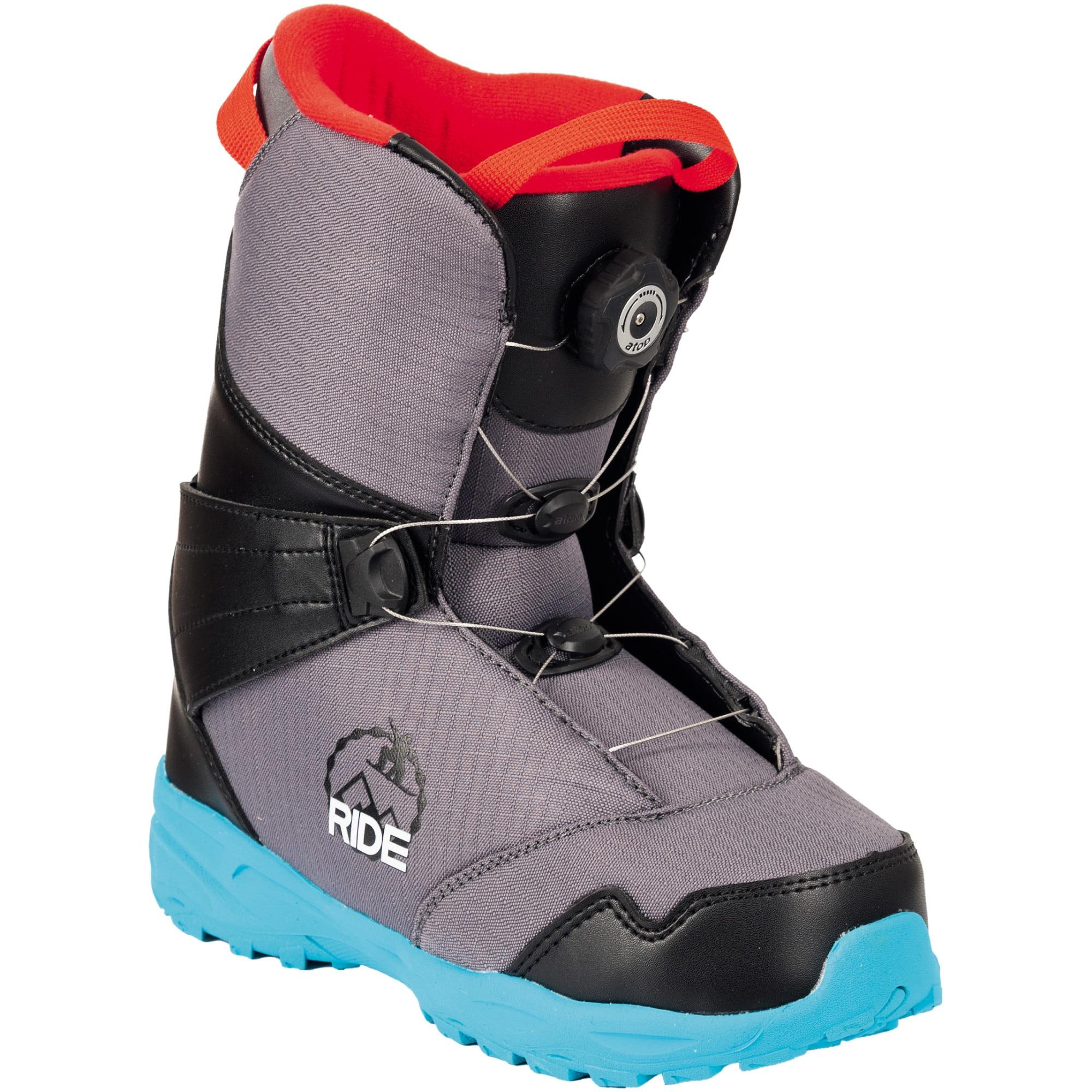 Fotografie Ghete snowboard Atop,Copii,Albastru, Albastru, 22