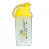 Shaker, Olimp, 700 ml, transparent / galben