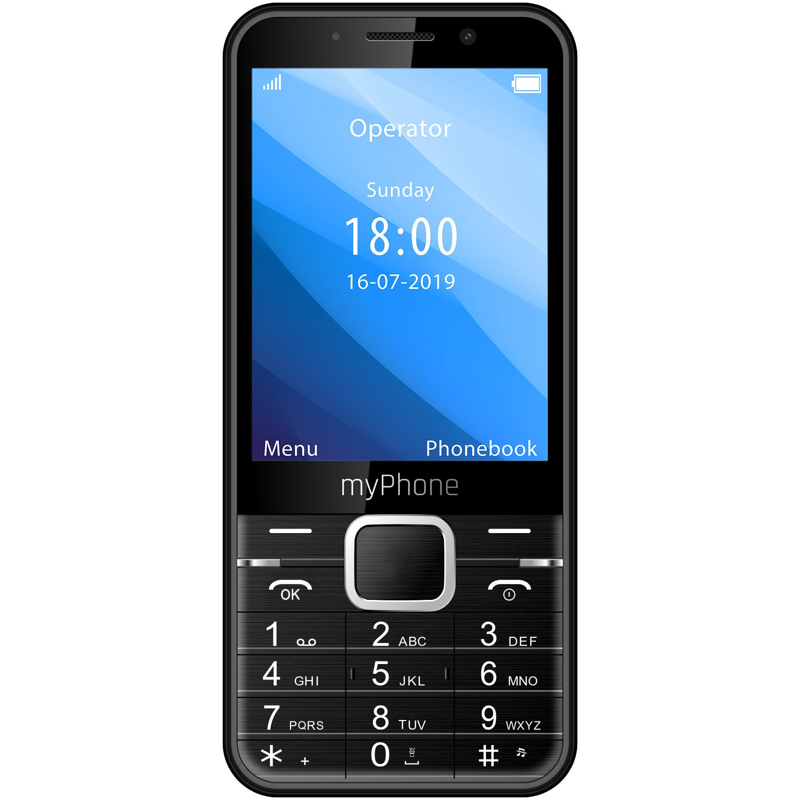 Fotografie Telefon mobil MyPhone UP, Dual SIM, Black