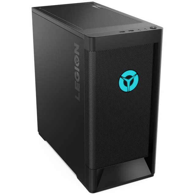 Fotografie Sistem Desktop Gaming Lenovo Legion T5 26AMR5 cu procesor AMD Ryzen™ 7 3700X pana la 4.40 GHz, 16GB DDR4, 512GB SSD, NVIDIA GeForce RTX 2060 6GB GDDR6, Free DOS
