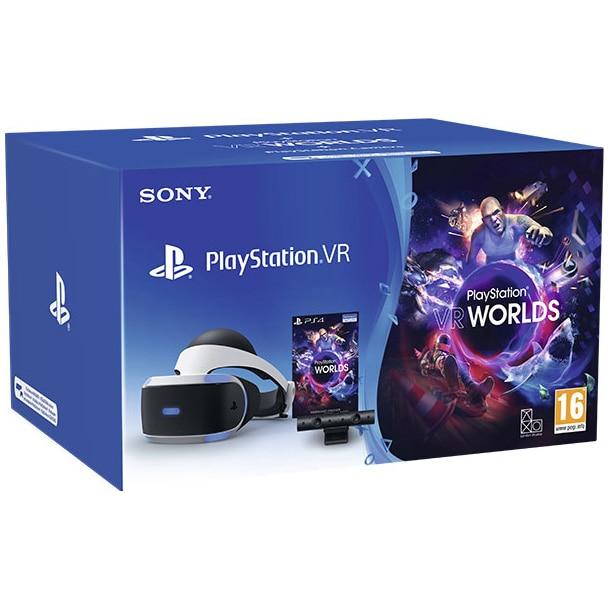 Fotografie PlayStation VR Starter Pack MK5 + Camera PS4 V2 + voucher VR Worlds + Adaptor PS5