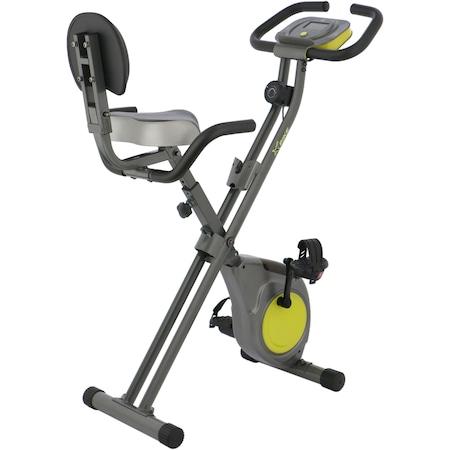 Bicicleta fitness pliabila X-Bike BC-203, culoare gri-verde