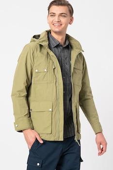 Jack Wolfskin, Lakeside Safari organikuspamut-tartalmú dzseki, M, Spárgazöld