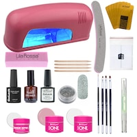 kit unghii gel uv