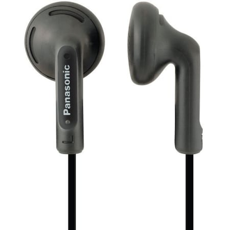 Аудио слушалки Panasonic RP-HV104E-K, In-Ear, Черни/Black