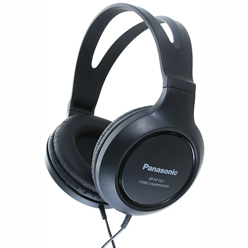 Fotografie Casti audio cu banda Panasonic RP-HT161E-K, Negru