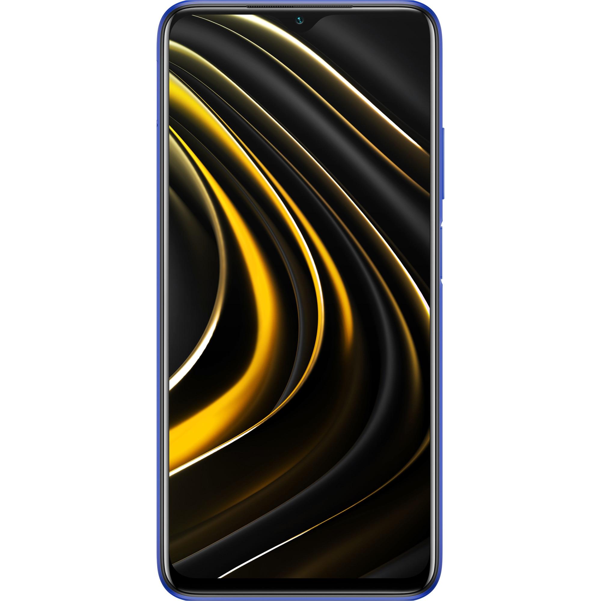 Fotografie Telefon mobil POCO M3, Dual SIM, 128GB, 4G, Cool Blue