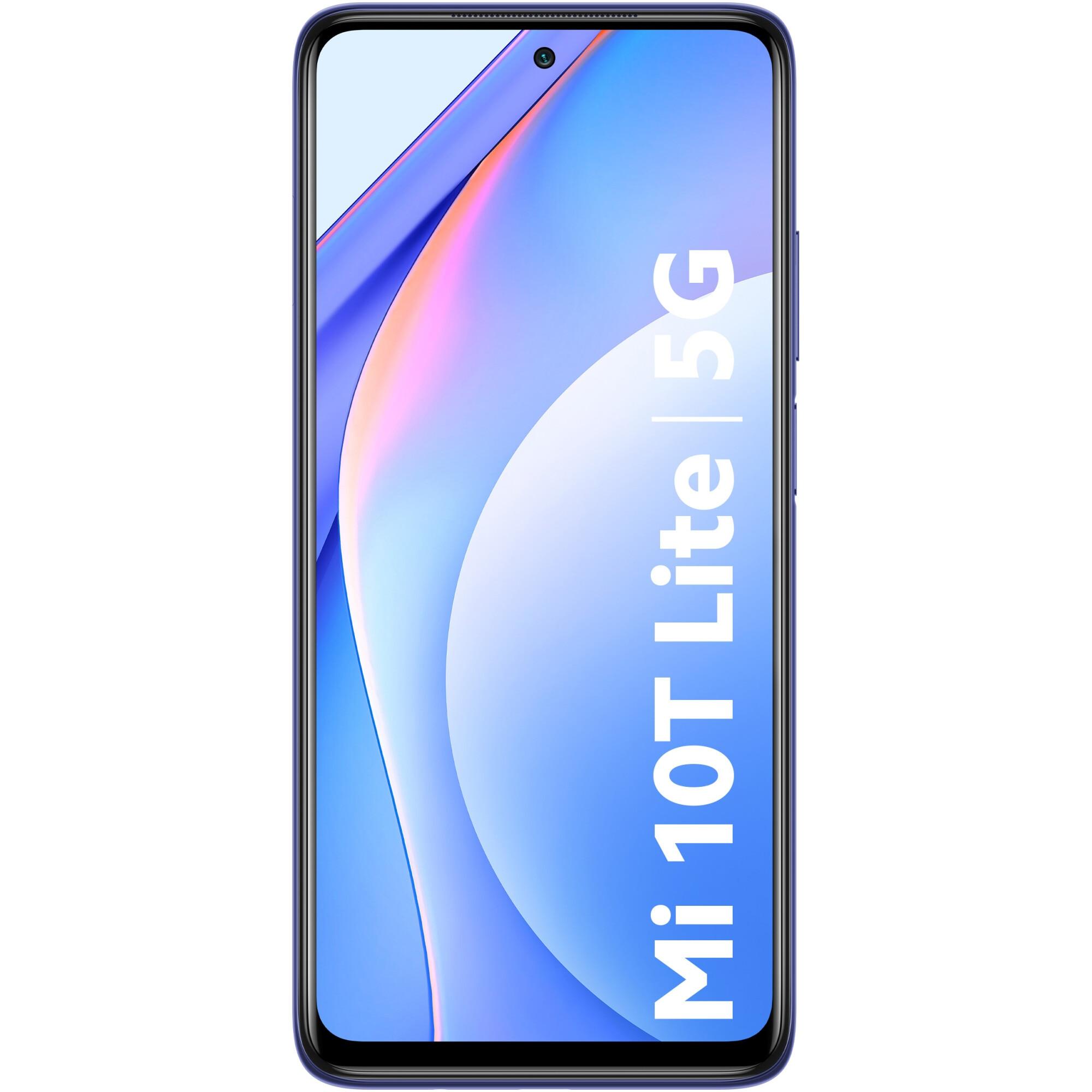 Fotografie Telefon mobil Xiaomi Mi 10T Lite, Dual SIM, 128GB, 6GB RAM, 5G, Atlantic Blue