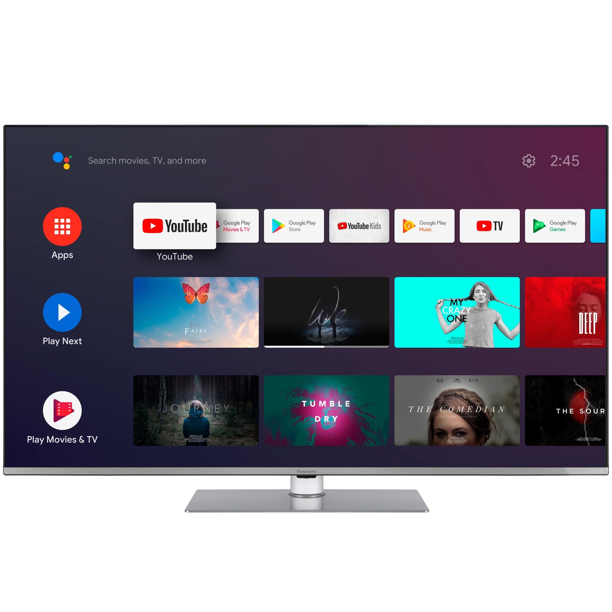 Fotografie Televizor Panasonic TX-50HX710E, 126 cm, Smart Android, 4K Ultra HD, LED, Clasa A+