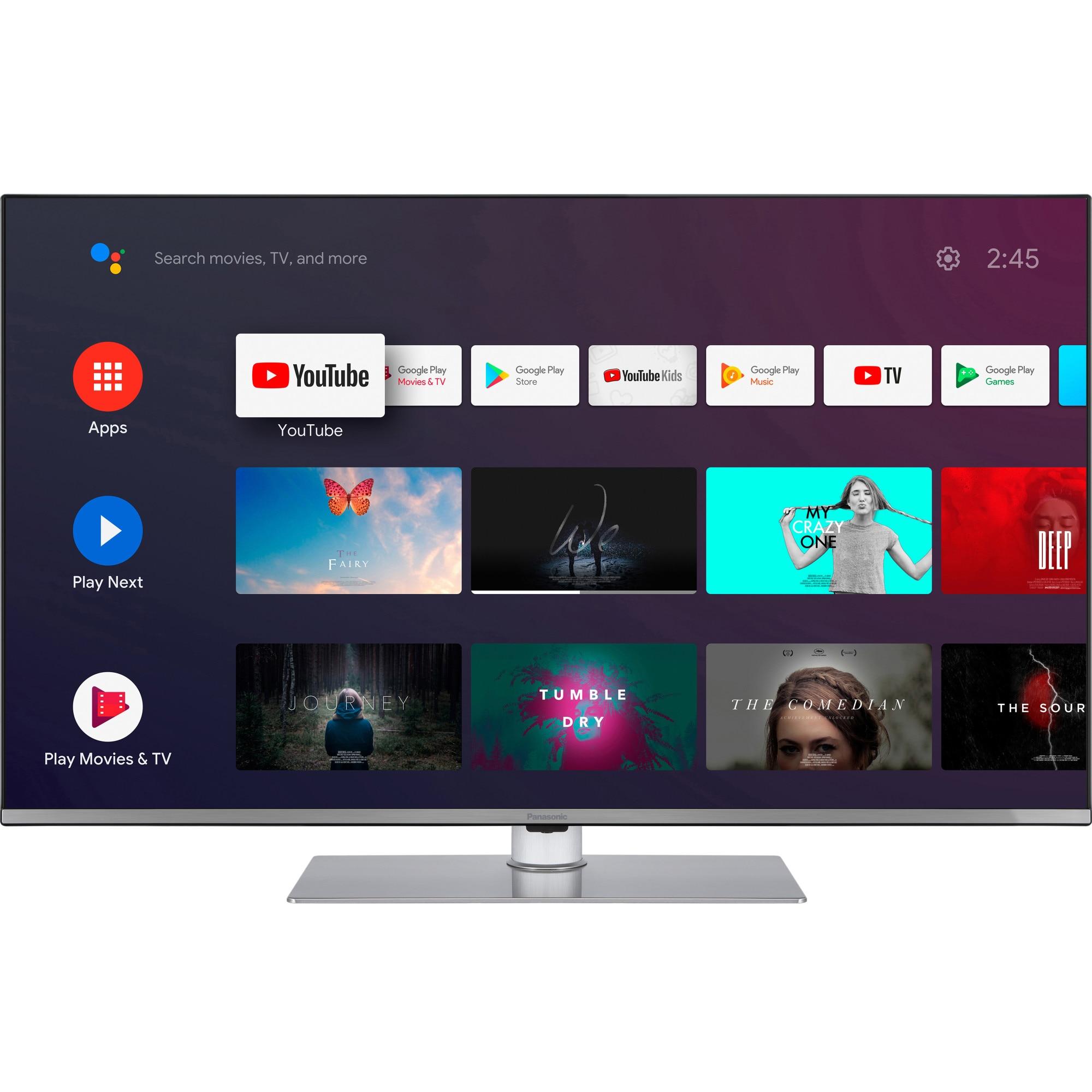 Fotografie Televizor Panasonic TX-43HX710E, 108 cm, Smart Android, 4K Ultra HD, LED, Clasa A+