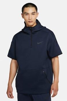 Nike Pro, Dri-Fit kapucnis sportfelső, Tengerészkék