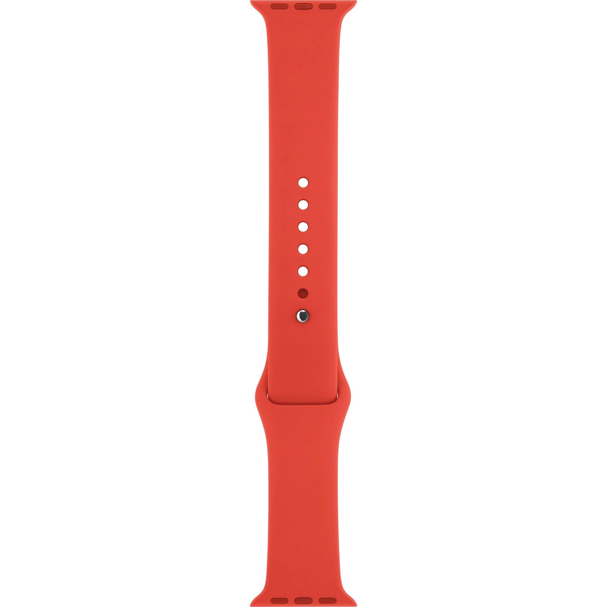 Fotografie Curea Apple Watch, 42 / 44mm, Orange Sport