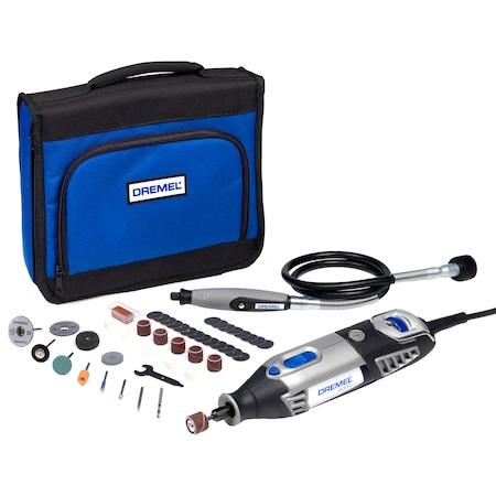 Многофункционален инструмент Dremel F0134000JC, 175 W, 35000 об/мин + 45 аксесоара EZ SpeedClic