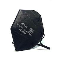 Fekete KN95 FFP2, 5 rétegű maszk, szájmaszk 50 db