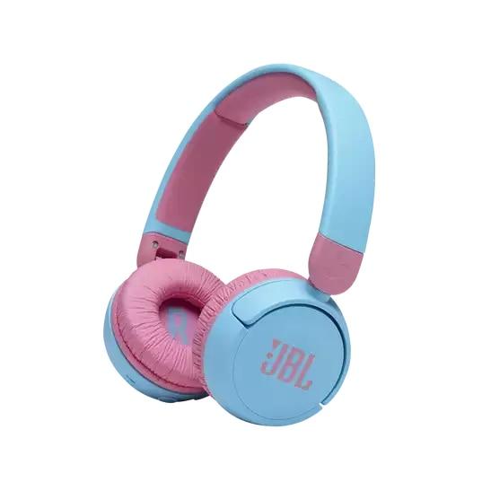 Fotografie Casti On Ear JBL JR310BT, Wireless, Bluetooth, Autonomie 30 ore, Albastru