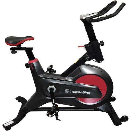 Bicicleta spinning magnetica InSPORTline Agneto, greutate volant 6kg, greutate maxima utilizator 120kg