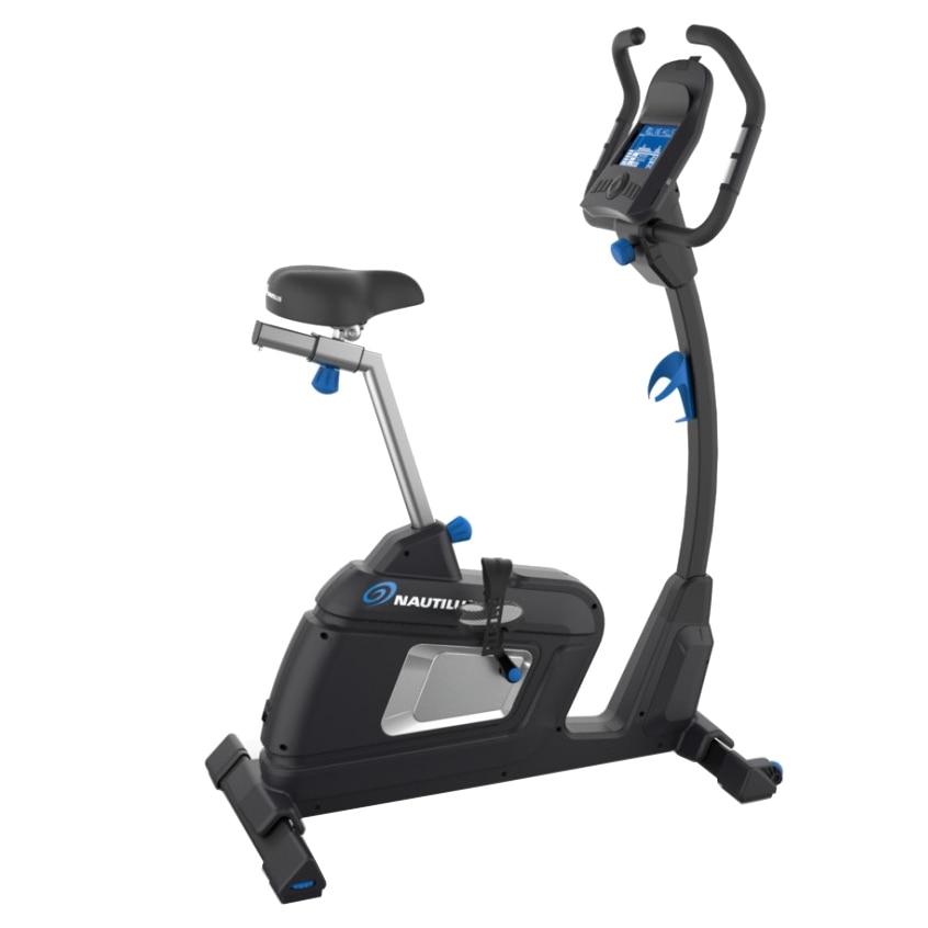 Fotografie Bicicleta electromagnetica Nautilus U627, rezistenta EMS 205-400W, greutate maxima utilizator 150kg
