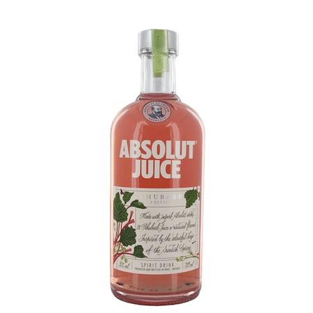 Vodca Absolut, Juice Rhubarb, 35%, 0.5l