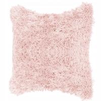 Декоративна калъфка за възглавница Springos , Пухкава, Размер 40x40 см, Розов