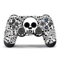PS4 sorozat -Kontrollerhez matrica - White Skull