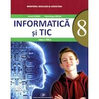 Informatica si TIC manual pentru clasa a VIII-a, autor Andrei Florea, autor Andrei Florea