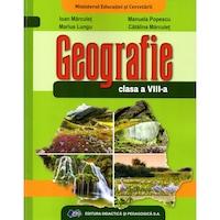 Geografie manual pentru clasa a VIII-a, autor Manuela Popescu