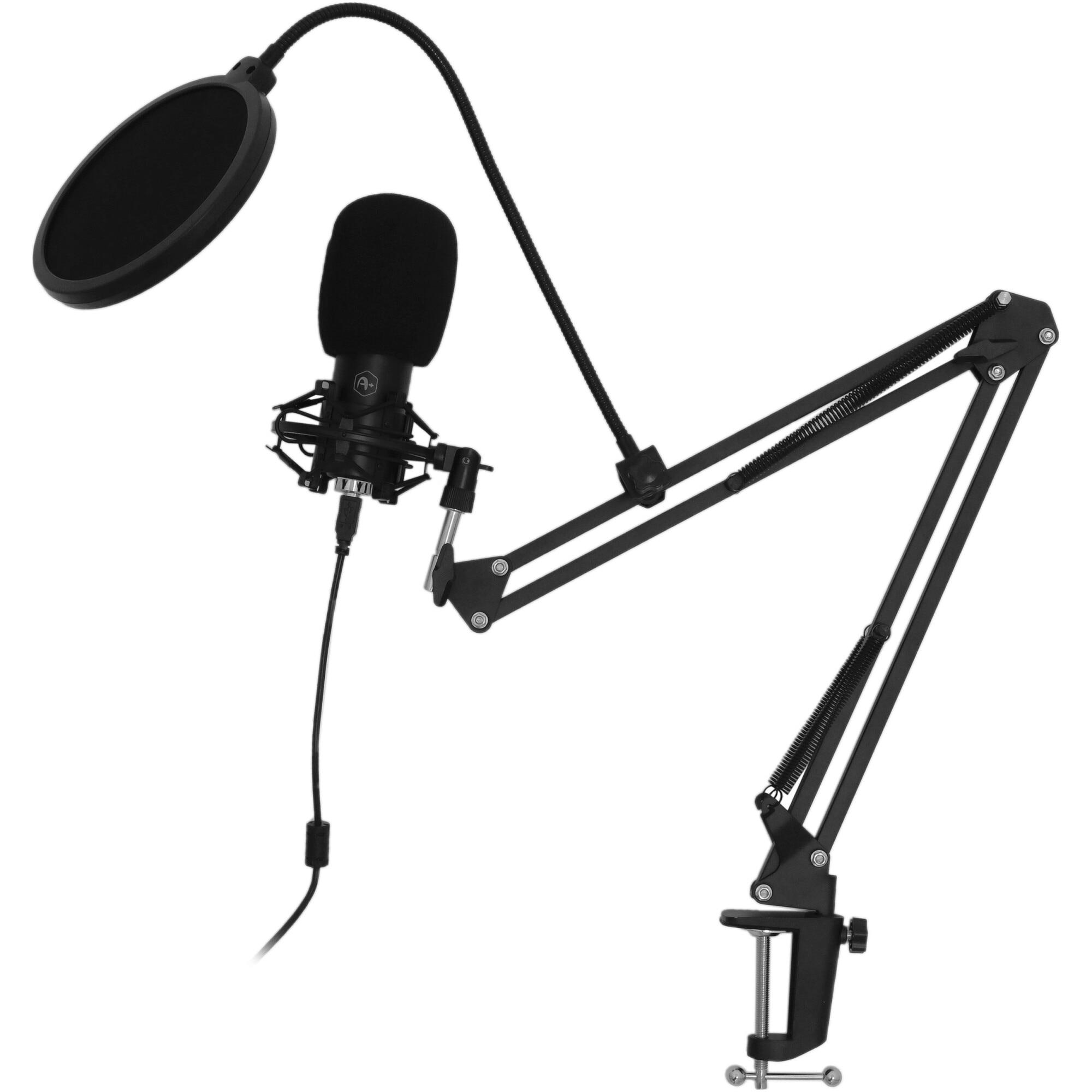 Fotografie Microfon streaming A+ M50, unidirectional