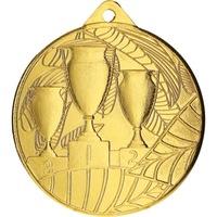 Спортен медал TRYUMF, Модел 3 купи, За 1-во място, Диаметър 5 см