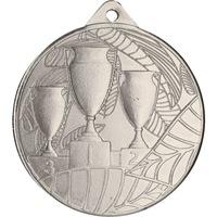 Спортен медал TRYUMF, Модел 3 купи, За 2-ро място, Диаметър 5 см
